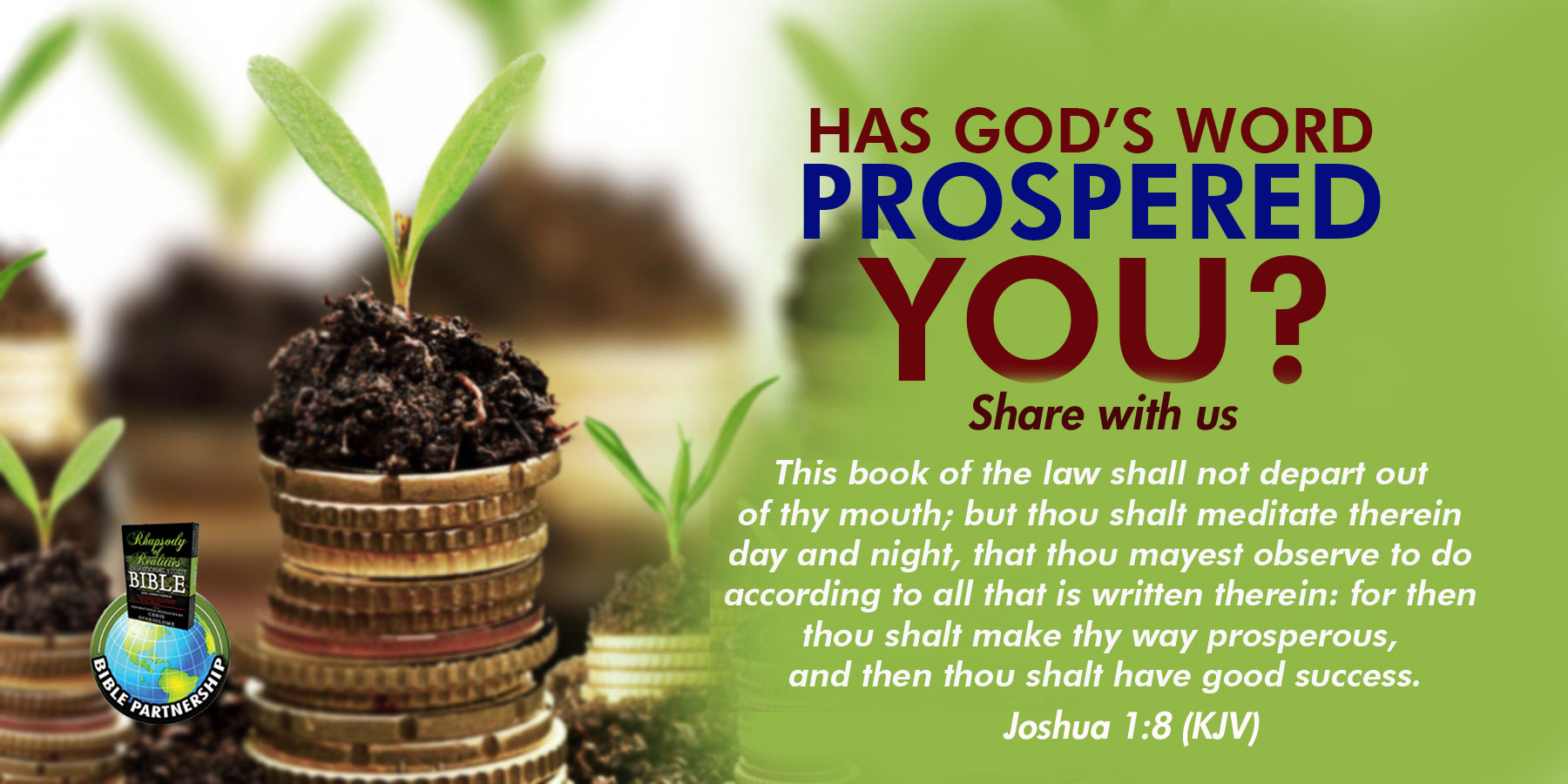 Has God's Word Prospered you?